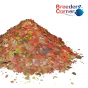 BREEDERS CORNER Premium Energy Tropical Flake Food with SPIRULINA